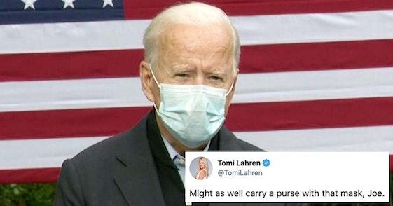 tomi lahren biden mask