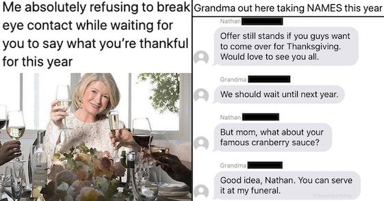 funny thanksgiving tweets
