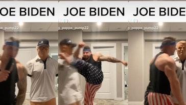 man-attacks-joe-biden-dummy-tiktok