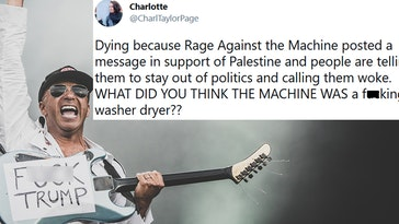 rage against the machine palestine