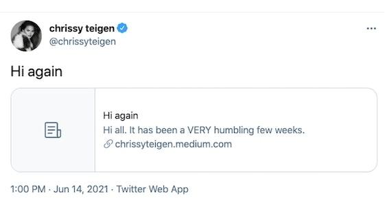 chrissy teigen apology