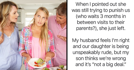 adult daughter share boyfriend bed aita