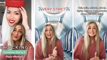 flight attendant dress code
